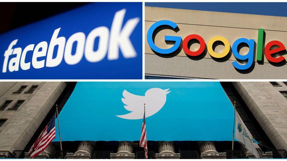 EEUU investigará si Google, Twitter, Facebook y otras firmas son monopolios