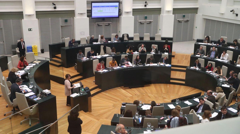 Vista general del Pleno del Ayuntamiento de Madrid. (EFE)
