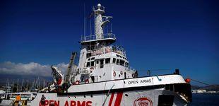 Post de Open Arms urge a España a encontrar un puerto seguro ante la amenaza italiana