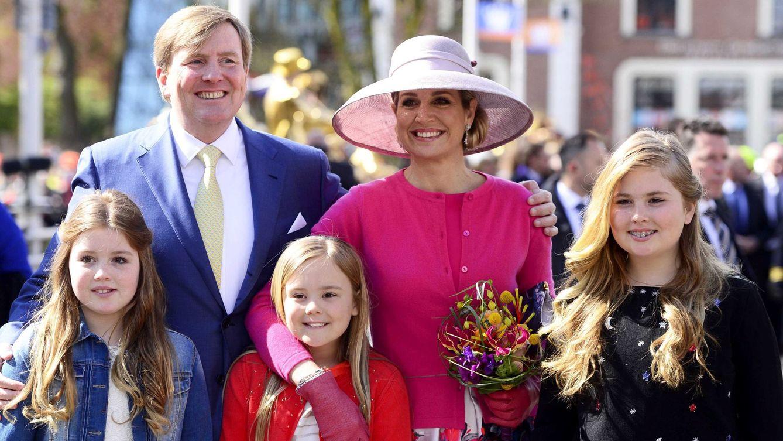 Foto: Los reyes de Holanda celebran el Koningsdag en Zwolle