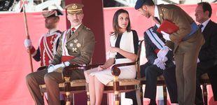 Post de El atento gesto de la reina Letizia con los invitados al acto de la Guardia Civil