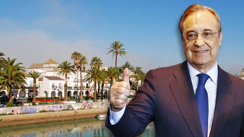 Florentino Pérez se compra una mansión en el Puerto de Santa María