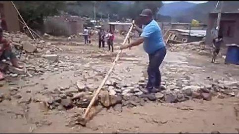 Las lluvias torrenciales provocan la práctica desaparición de una aldea de Perú