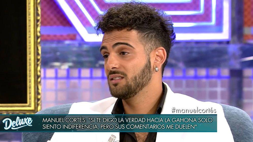 Foto: Manuel Cortés, en 'Sábado Deluxe'. (Telecinco)