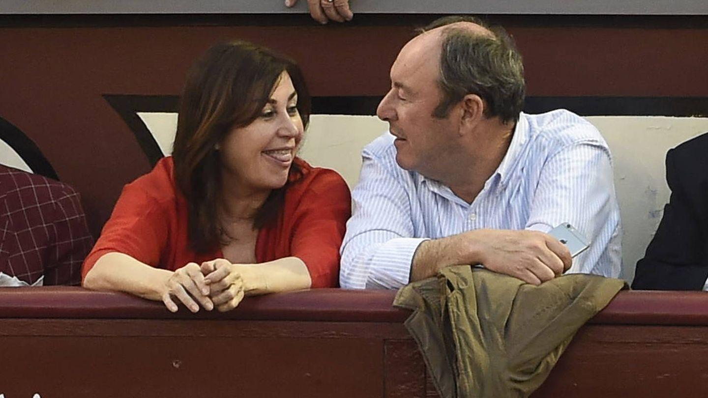 Carmen Martínez-Bordiú y Luis Miguel Rodríguez.