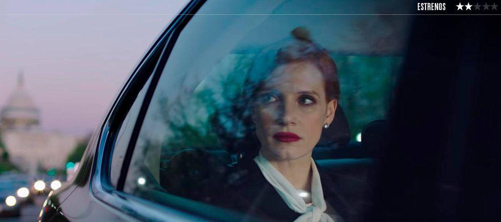 Foto: Jessica Chastain es la protagonista de 'El caso Sloane'.