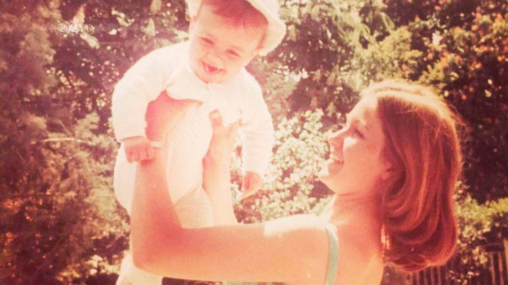 Foto: Susanna Griso, de bebé. (IG)