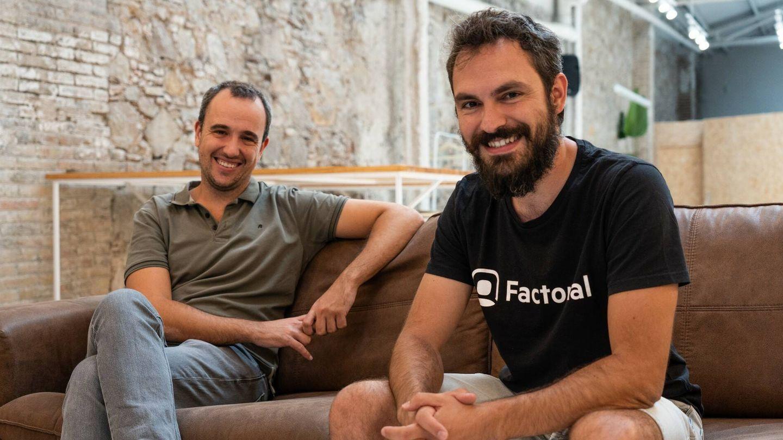 Bernat Farrero (izq.) y Jordi Romero, cofundadores de Factorial. (Foto: cedida)