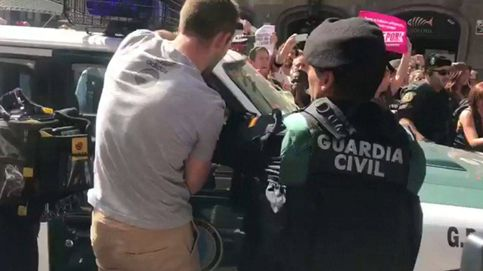 Así vivieron los guardias civiles su encierro en la Conselleria de Economía de Barcelona