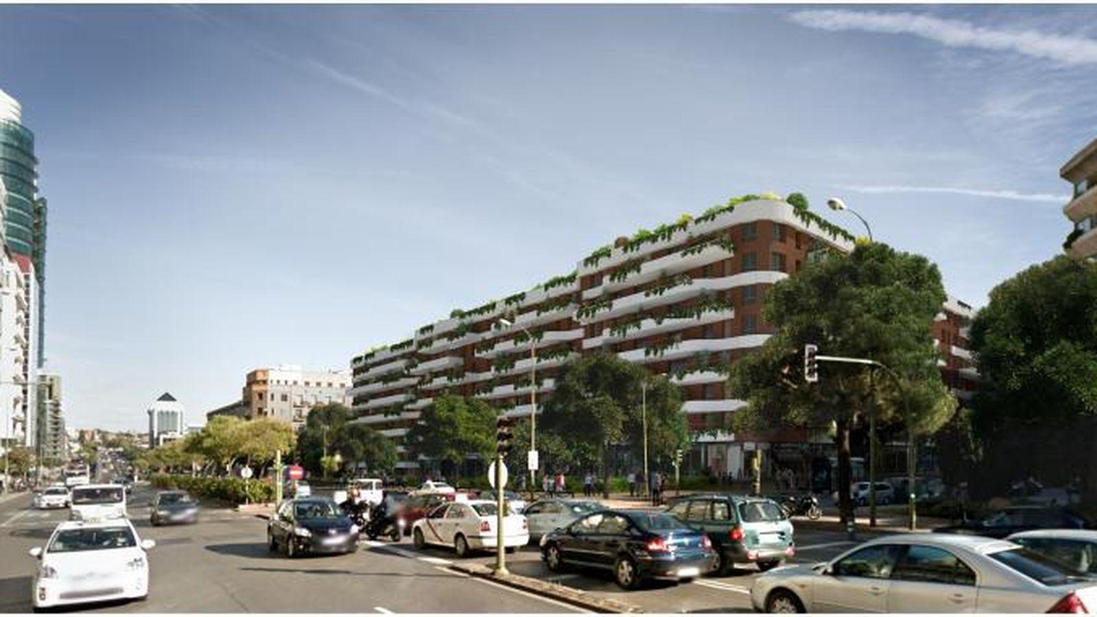 Foto: Infografía de las futuras viviendas de Raimundo Fernández Villaverde.