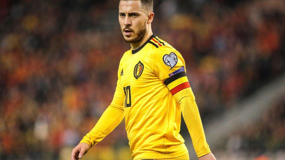 Foto: Eden Hazard será presentado tras la ventana de selecciones, en la que jugará dos partidos con Bélgica. (EFE)
