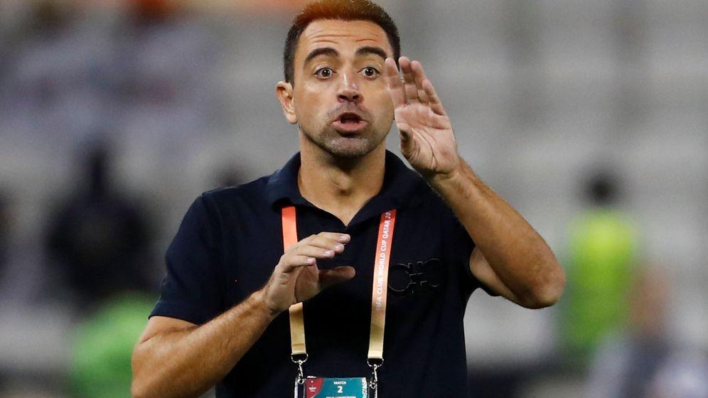 Foto: Xavi Hernández, durante un partido con el Al Sadd, de Qatar. (REUTERS)