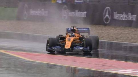Fórmula 1 en directo: Carlos Sainz a soñar bajo la lluvia en el GP de Alemania