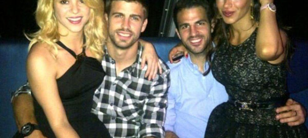 Bar Refaeli 'tira los tejos' a los jugadores del Barça