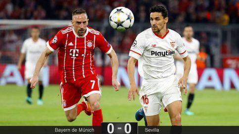 El Sevilla es incapaz de marcar al Bayern y se despide de la Champions League