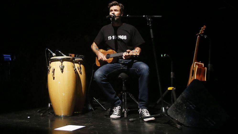 Foto: Jarabe de Palo, en Chile. (EFE)