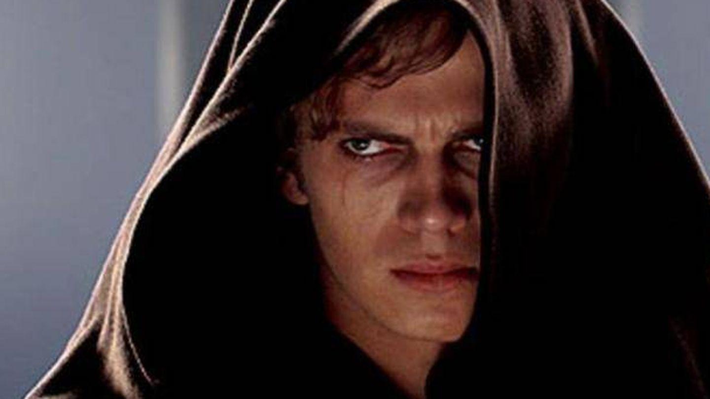 Hayden Christensen en su papel de Darth Vader.