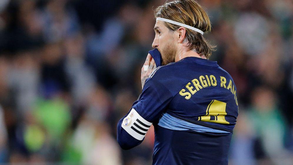 Foto: Sergio Ramos, capitán del Real Madrid y la Selección. (Reuters)