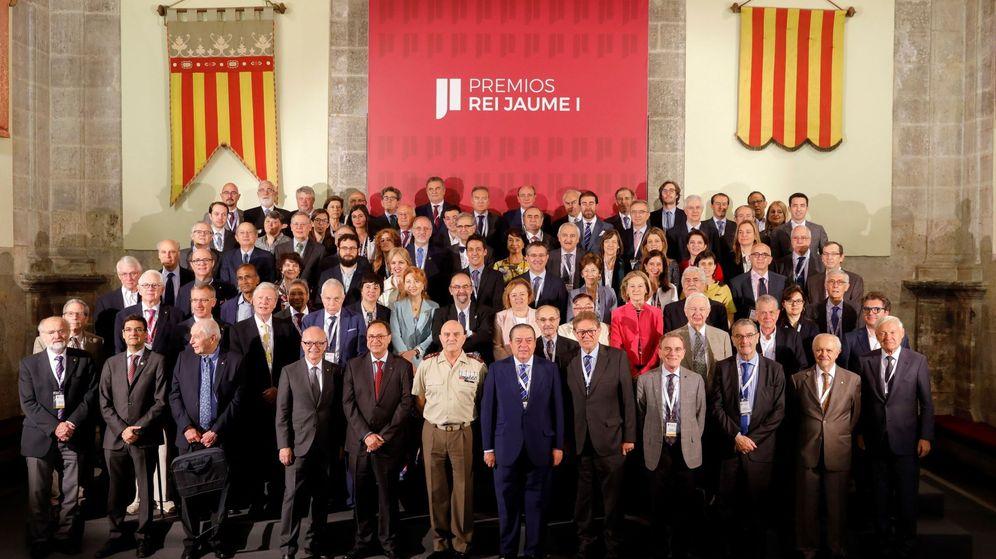 Foto: Deliberación de los premios rey Jaime I (EFE)
