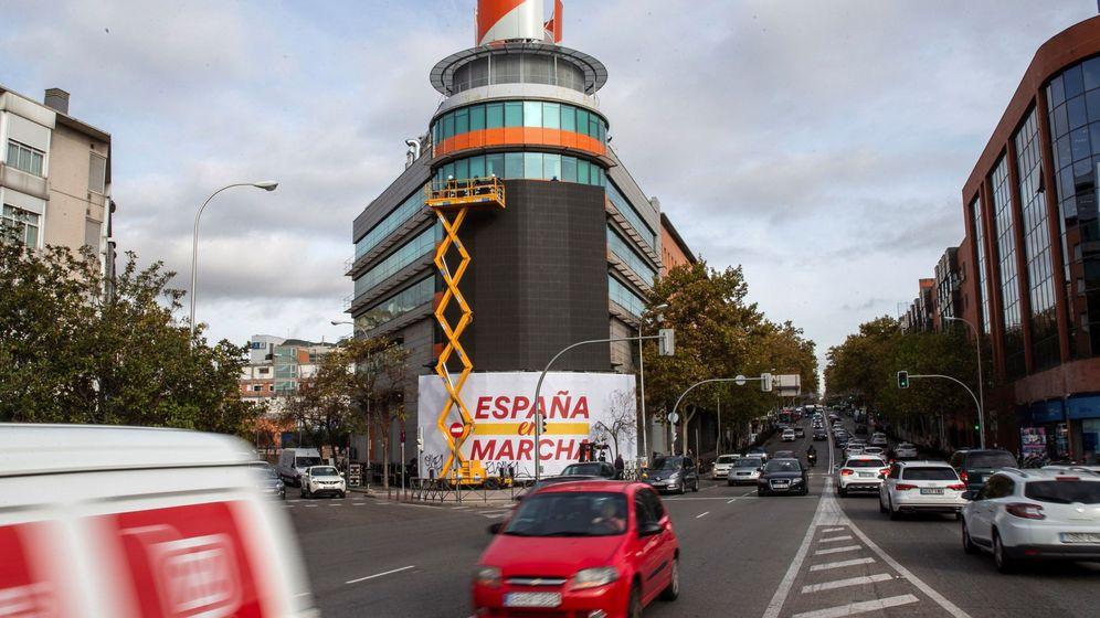 Foto: La sede de Ciudadanos en la calle Alcalá de Madrid. (EFE)