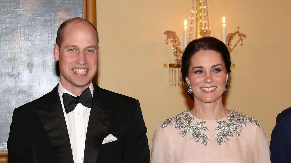 Foto: Los duques de Cambridge de cena en el palacio real de Oslo. (reuters)