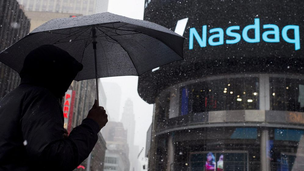 Foto: El Nasdaq en Times Square (Nueva York, EEUU). (Reuters)