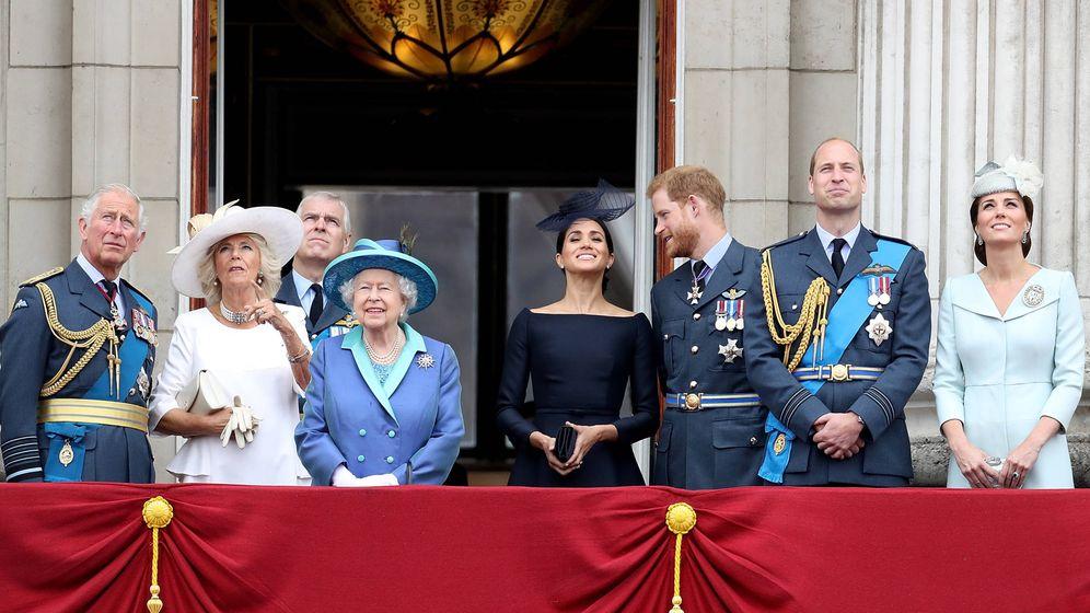 Foto:  La familia real británica. (Getty)