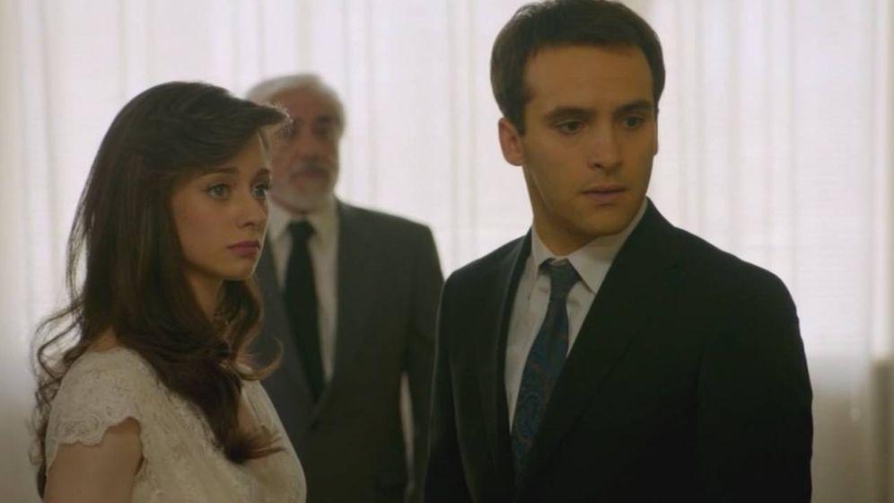 969a37ba9 La boda interruptus de Carlos y Karina en Cuéntame cómo pasó