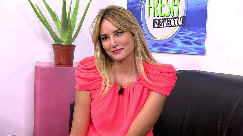 Alba Carrillo en 'Ya es mediodía'. (Mediaset)