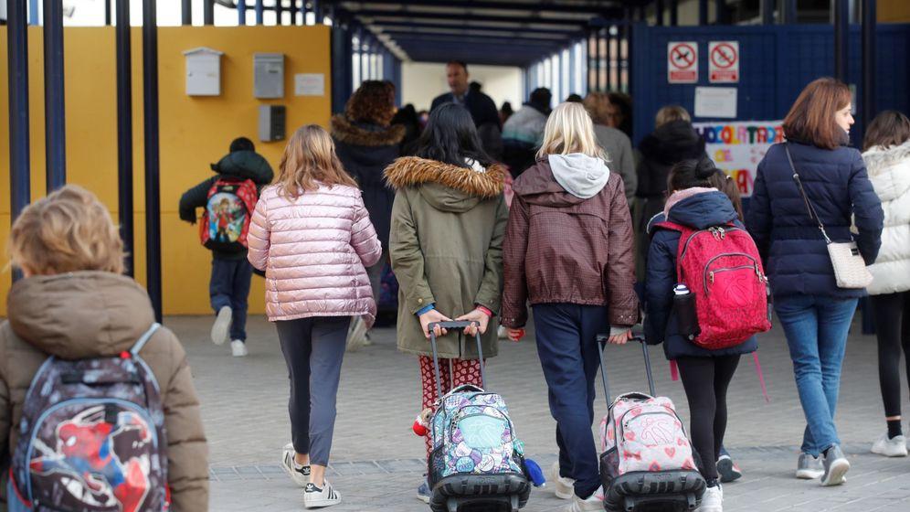 Foto: Un colegio en la Comunidad de Madrid.