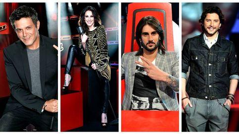 Alejandro Sanz, Malú, Melendi y Manuel Carrasco, 'coaches' de 'La Voz 4'