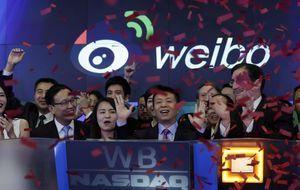 Alibaba podría llegar a 68 dólares...y Weibo cae hasta los 20: la red social se desploma