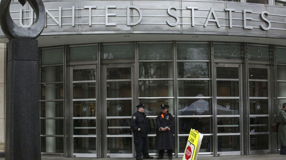 Foto: Entrada de los juzgados del Distrito Sur de Nueva York. (EFE)
