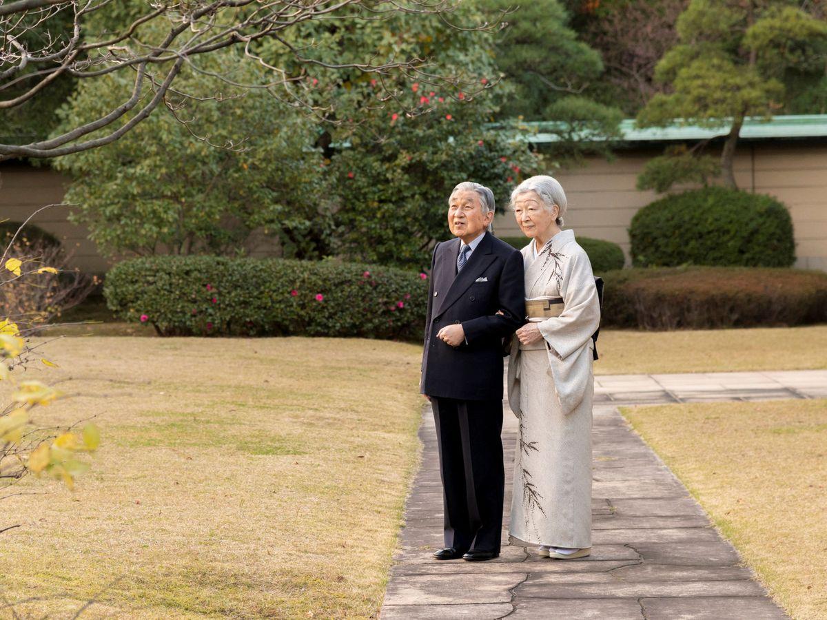 Foto: Los emperadores eméritos, en una imagen de archivo. (Reuters)