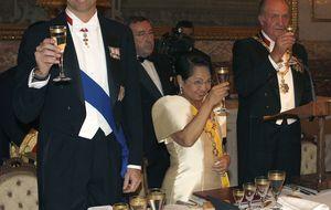 Noche de amigos, cena y copas para el Rey Felipe VI (sin Letizia)