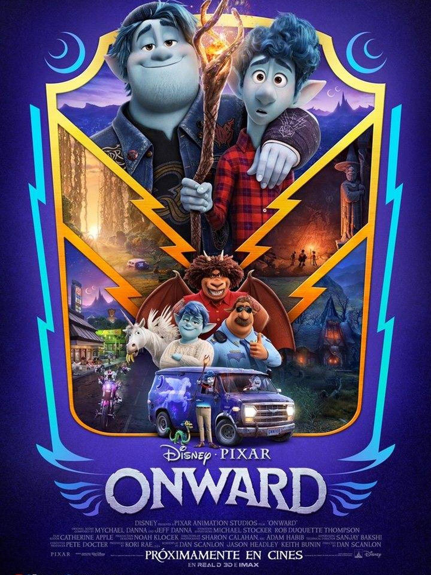 Cartel de 'Onward'.