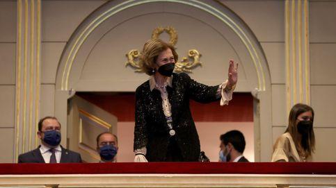La noche musical de la reina Sofía: volantes, aplausos y la vuelta de su hermana Irene