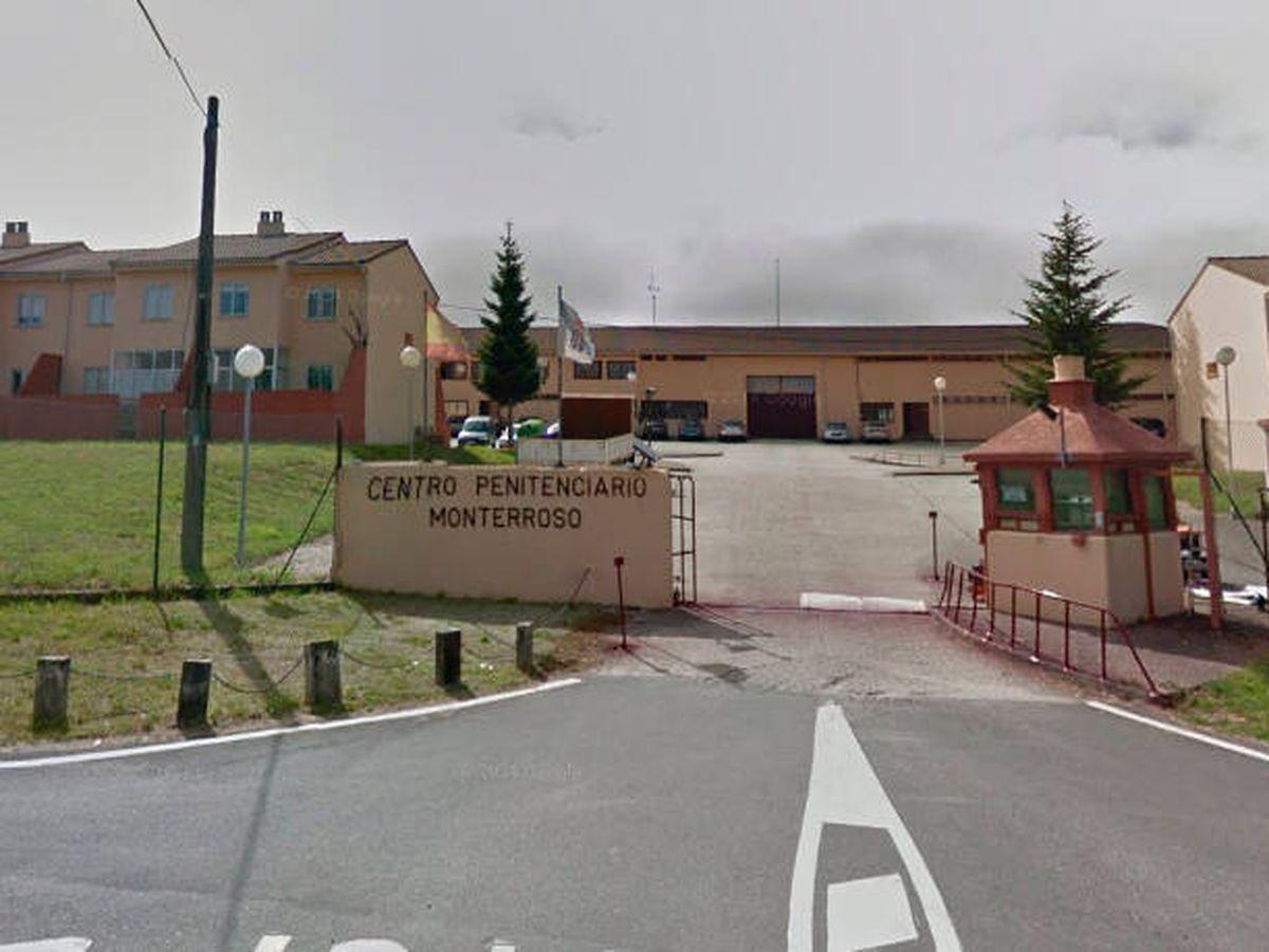 Foto: La cárcel de Monterroso, en Lugo, donde se grabaron los vídeos (Google Maps)