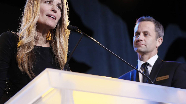 Chelsea y Kirk Cameron. (Getty)