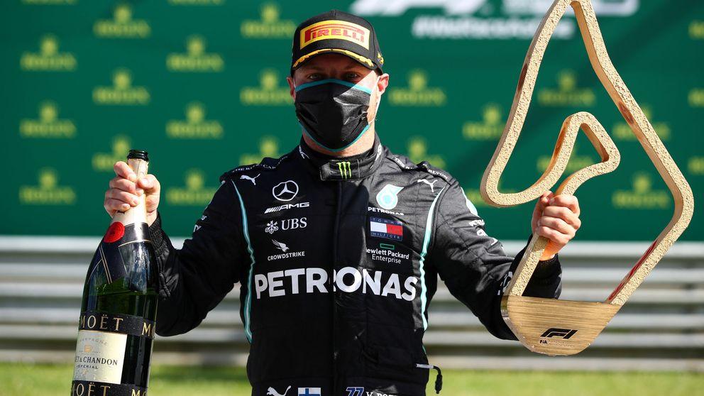 Resultado Fórmula 1: victoria de Bottas y tremendo podio de McLaren con Sainz 5º