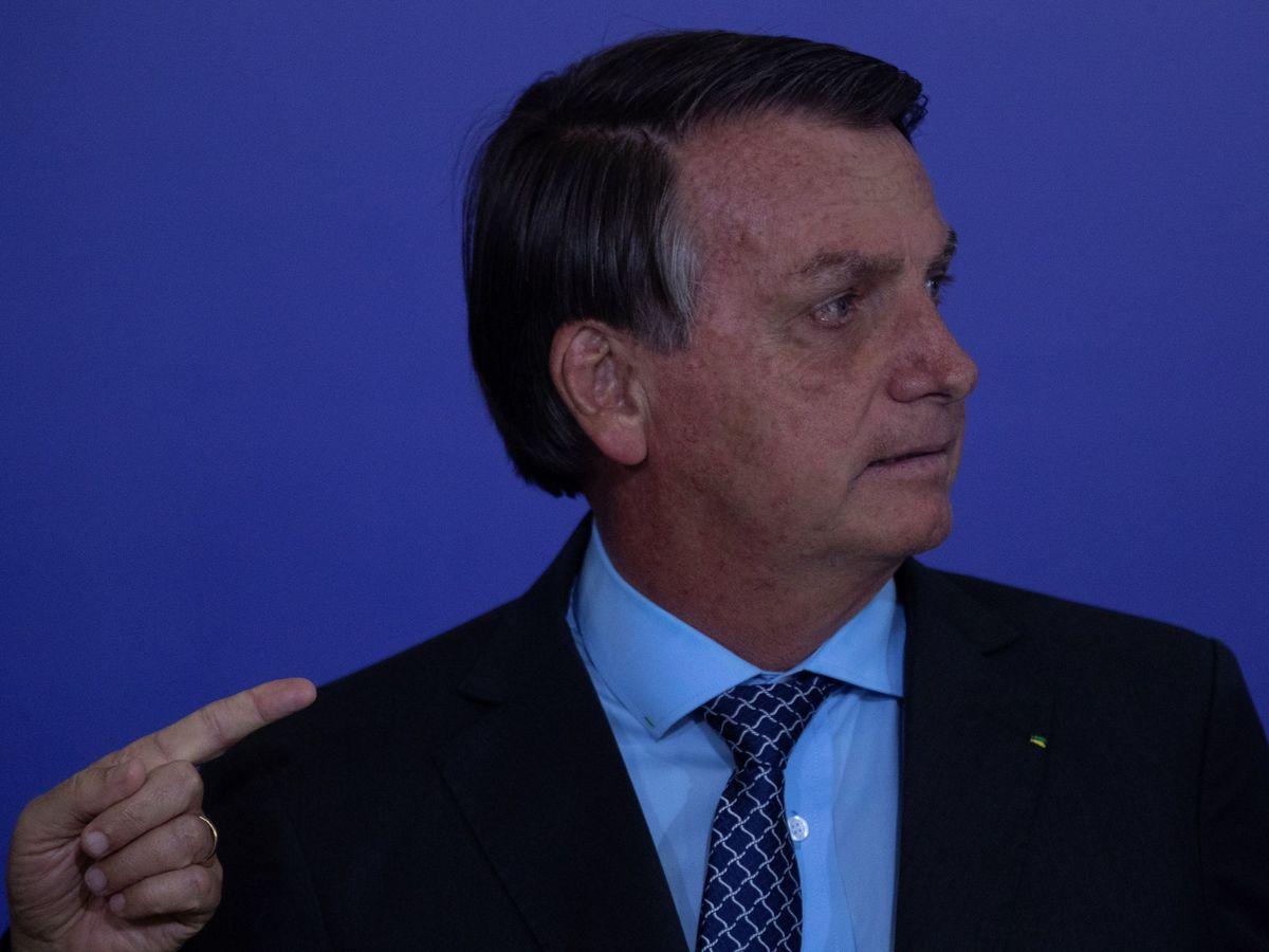 """Foto: Bolsonaro pide a los brasileños que dejen de ser """"un país de maricas"""" (EFE/Joédson Alves)"""