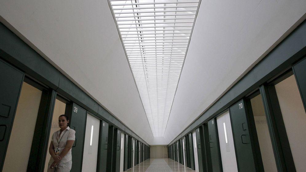 Foto: Uno de los módulos de la prisión de Estremera.