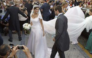 Lourdes Montes se defiende de las duras críticas a su vestido de novia
