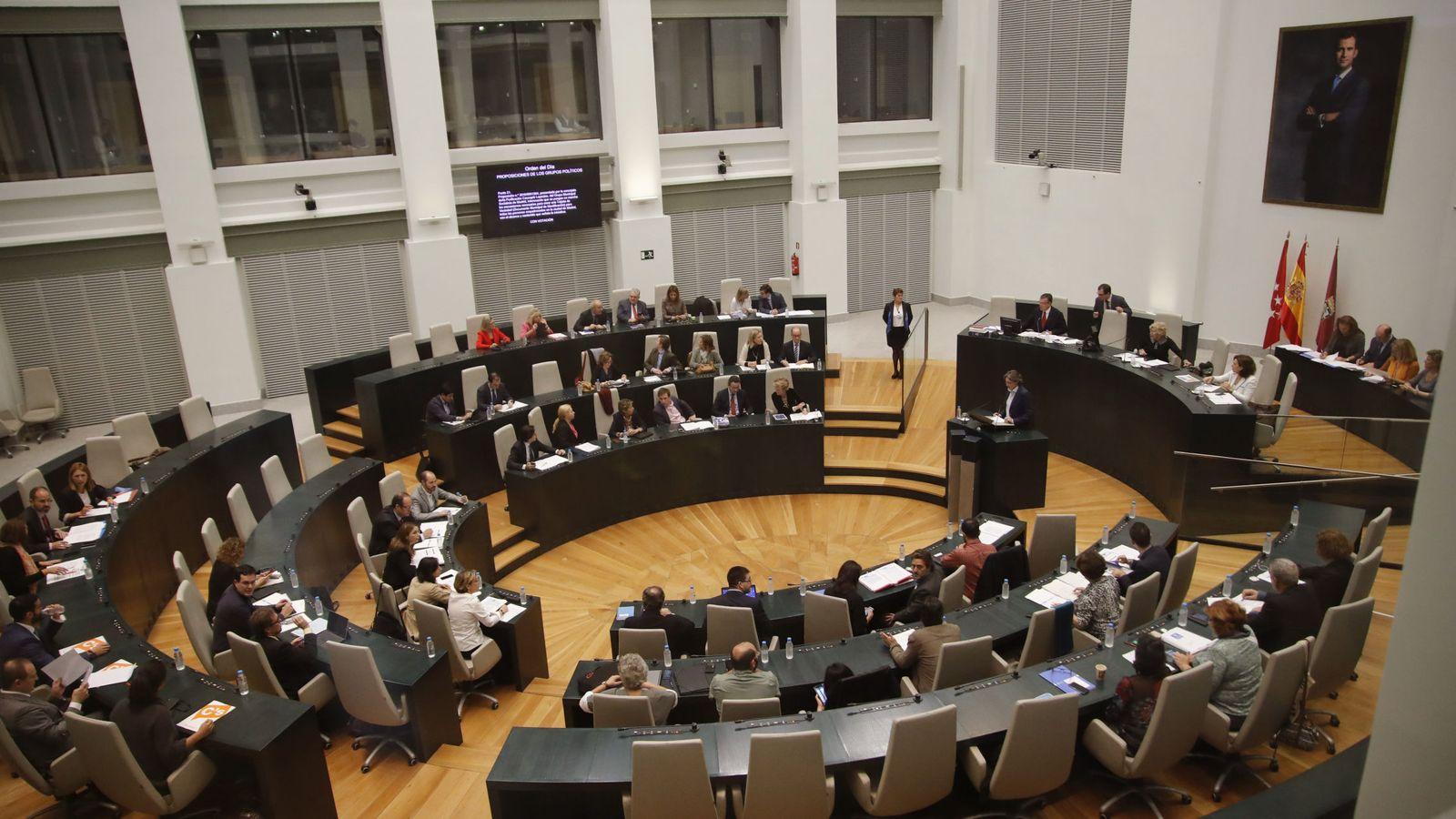 Foto: El pleno del Madrid aprueba el 'DNI Municipal' (Efe).
