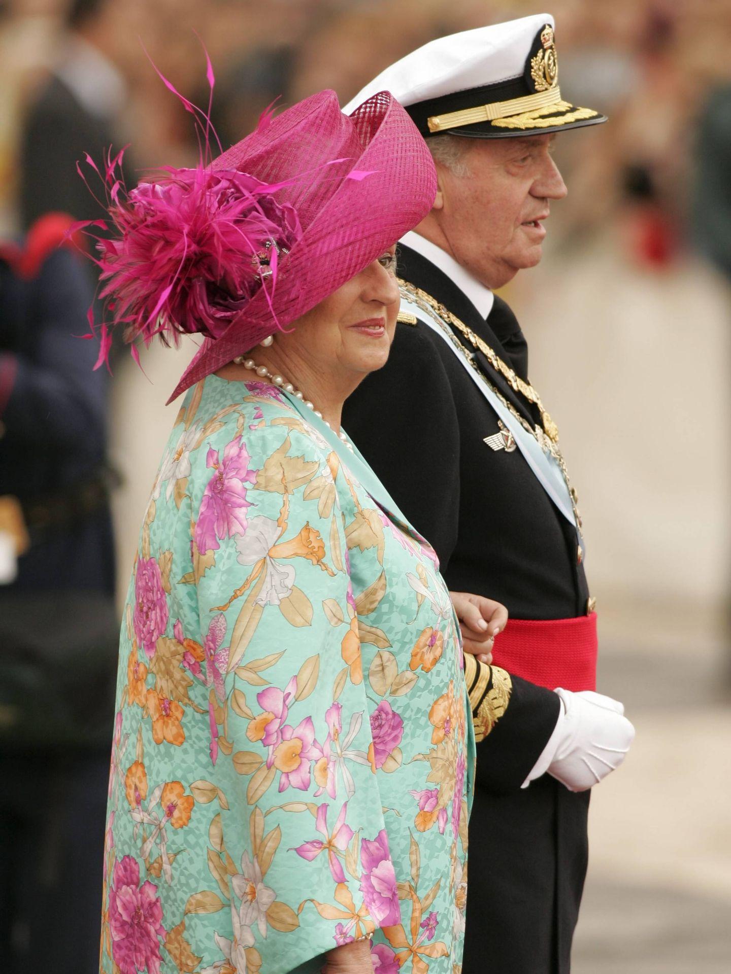 Boda del entonces príncipe Felipe y Letizia Ortiz en 2004. (Cordon Press)