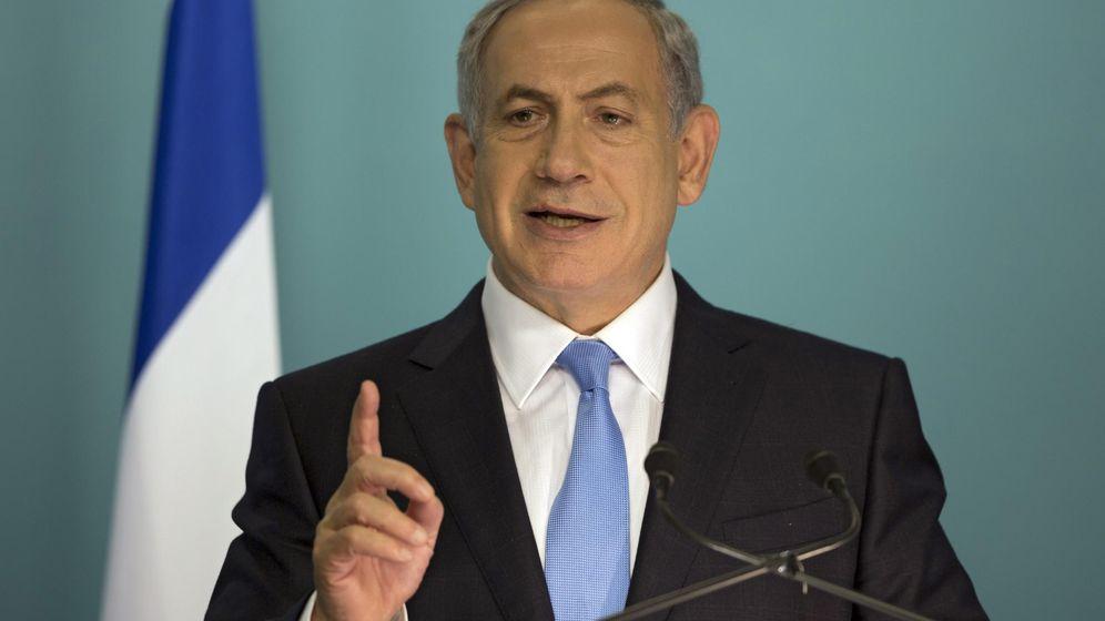 Foto: El primer ministro israelí, Benjamin Netanyahu, durante una rueda de prensa en Jerusalén. (Efe)