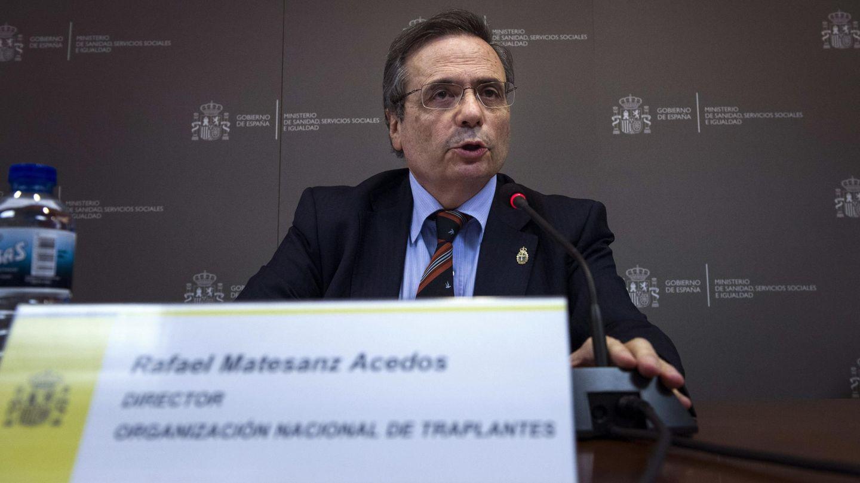 El director de la Organización Nacional de Trasplantes (ONT), Rafael Matesanz. (EFE)