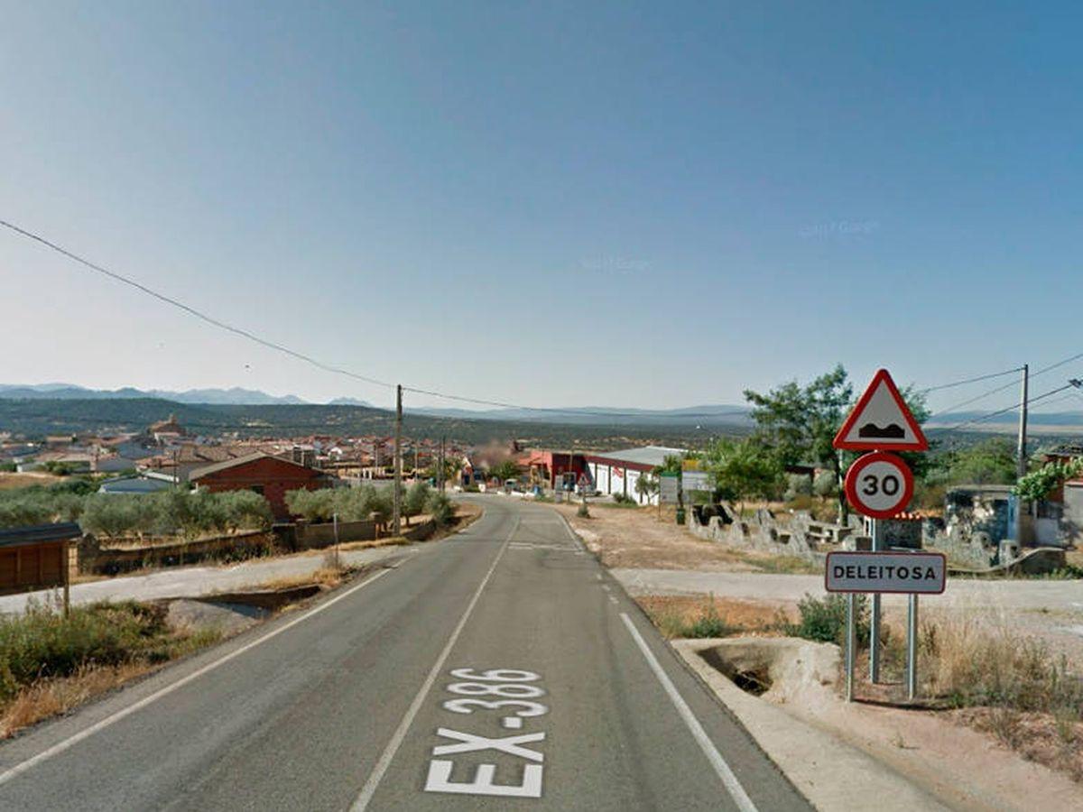 Foto: Deleitosa es una pequeña localidad extremeña de poco más de 700 habitantes (Google Maps)