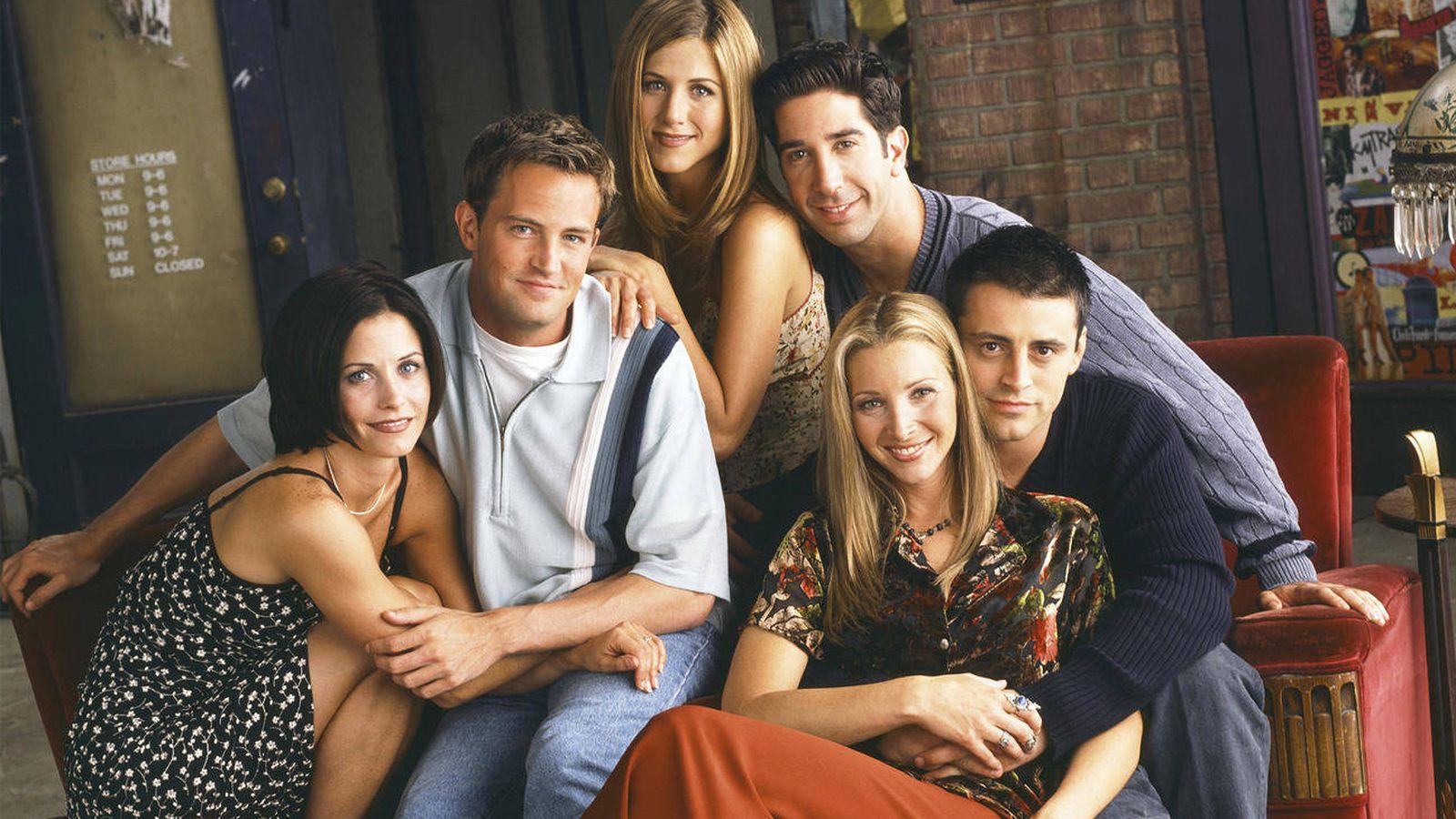Foto: 'Friends' regresa a la televisión española.