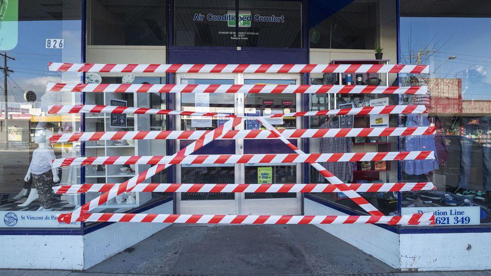 Foto: Regresa el confinamiento a Melbourne. (EFE)